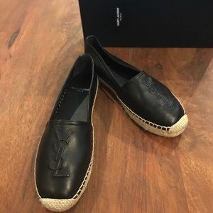 Saint Laurent Shoes - *Brand New* YSL black espadrilles. Unworn, size 36
