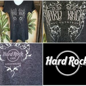 Tops - 2/$12 💖💖Hard rock couture tshirt
