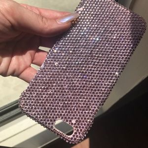 Accessories - Pink Swarovski iPhone 6s case!