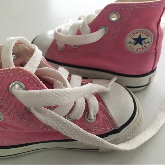 converse pink converse tennis shoes infant size 3 from