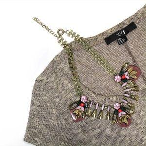 Karis' Kloset Jewelry - Jewelry | Glam statement necklace Autumn bug