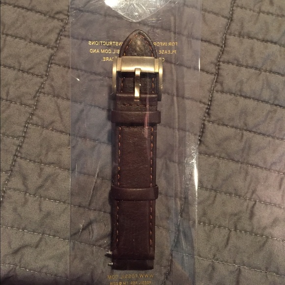 Fossil Accessories - NWT fossil leather strap