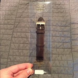 NWT fossil leather strap