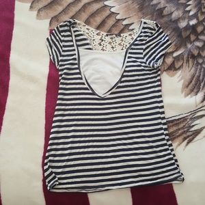 Myths Tops - LARGE STRIPED TOP!