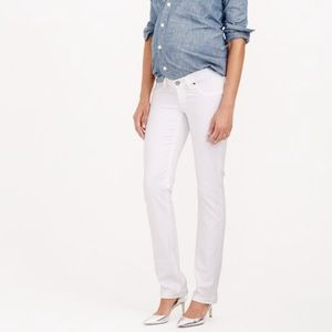 J.crew Stretch Maternity Matchstick Jeans, NWT Wht