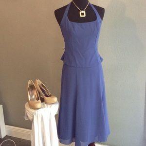 After Six Dresses & Skirts - After Six 2piece halter top/skirt size 6