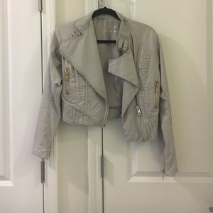 Blank NYC Jackets & Blazers - NWOT!! Blank NYC moto faux leather jacket