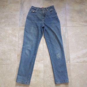 VTG 90s Gloria Vanderbilt High Waist Mom Jeans W28
