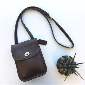 Coach Bags - Coach Scooter Mini Crossbody Bag in Dark Brown