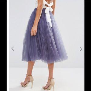 Little Mistress Dresses & Skirts - Tulle midi skirt