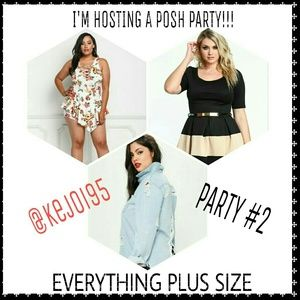 Other - POSH PARTY #2 - EVERYTHING PLUS SIZE - MAY 20th