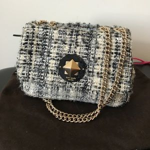 Kate Spade Studio City Christy Tweed Shoulder Bag