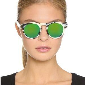 Illesteva Accessories - New Illesteva Leonard II Horn Sunglasses Round