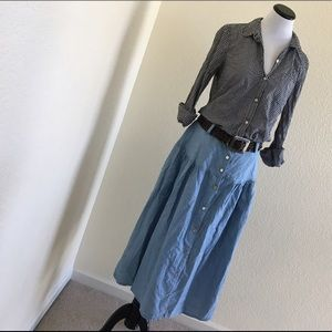 Fritzi California Chambray Skirt