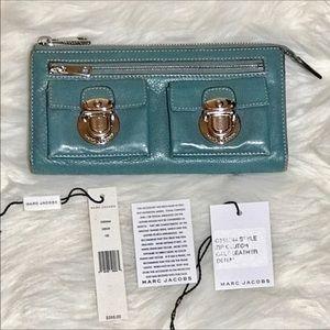 Marc Jacobs Handbags - ❤️BOGO❤️Marc Jacobs Zipper Wallet Denim blue color