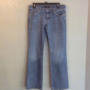 Banana Republc mid rise jeans size 8