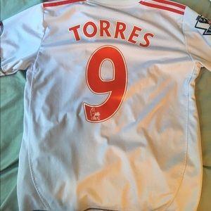6c127f454 adidas Shirts - Fernando Torres Liverpool Jersey