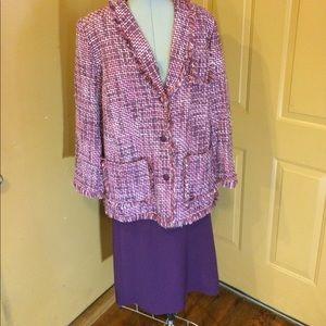 Bob Mackie Dresses & Skirts - Bob Mackie Studio 18 Suit/skirt