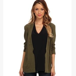 Alternative Apparel Jackets & Blazers - Alternative Apparel Twill Notch Rayon Blazer