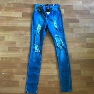 Fashion Nova Seek and Destroy Jeans