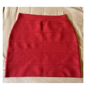Romeo & Juliet Couture Dresses & Skirts - Romeo + Juliet red bandage bodycon skirt