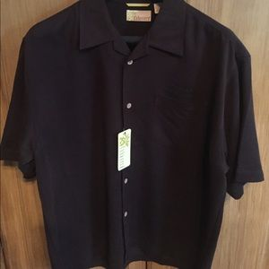 Cubavera Other - NWT- Black shirt Button down shirt