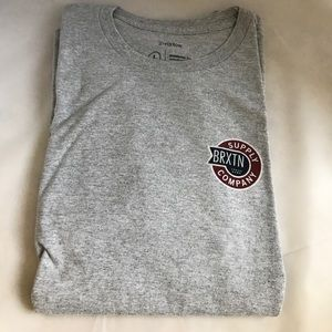 Brixton Other - Men's gray Brixton tee size Large