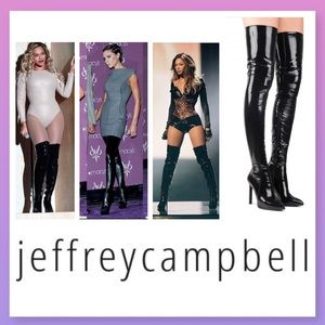 Jeffrey Campbell Shoes - Jeffrey Campbell 'Sherise' Over Knee Boot size 10