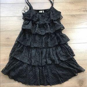 Guess ruffle Spaghetti Strap dress