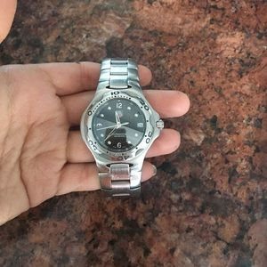 Other - Men's tag heuer silver waterproof watch