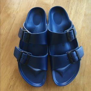 Birkenstock Shoes - Birkenstocks rubbery slip ons size 39