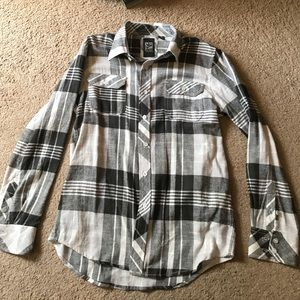 Micros Other - Boys long sleeve button up flannel