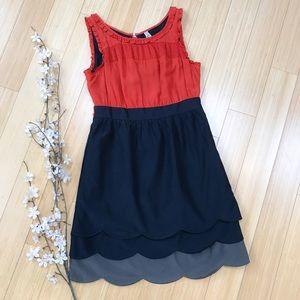 Anthropologie Dresses & Skirts - Anthropologie MAEVE Silk Horizon dress, 4.