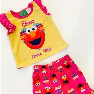 Sesame Street Other - Elmo Pajamas