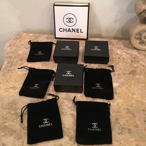 Final price Chanel boxes and dust bags