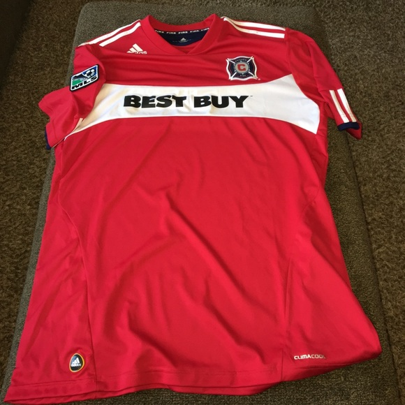 2fb18f004dbe adidas Other - Adidas Chicago Fire soccer jersey size XL mls