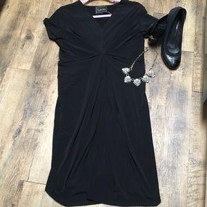 Leota Dresses & Skirts - BRAND NEW TAG LEOTA  Black Dress Made in NY LARGE
