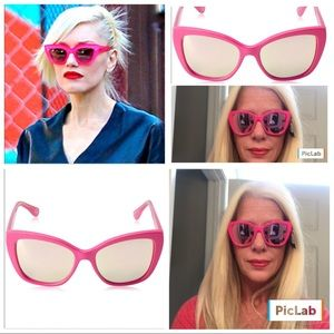 Foster Grant Accessories - 🎀🆕Foster Grant Cat Eye Pink Mirrored Sunglasses