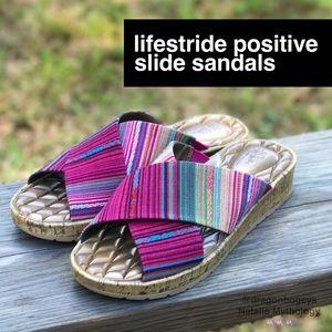 Life Stride Shoes - LifeStride Positive Slide Sandals
