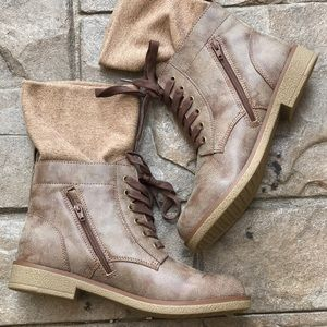 Boutique Shoes - Snow Camp Combat Rugged Boots