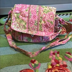 Pink and green Vera Bradley purse!