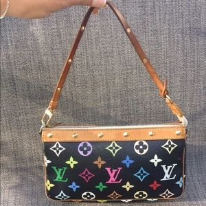 Louis Vuitton Handbags - 💯Authentic Louis Vuitton Multi color pochette