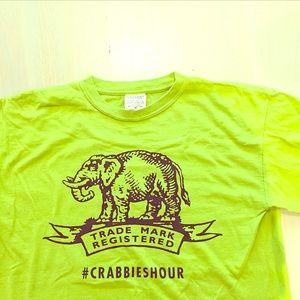 """Tops - """"Crannies"""" green size Med t-shirt"""