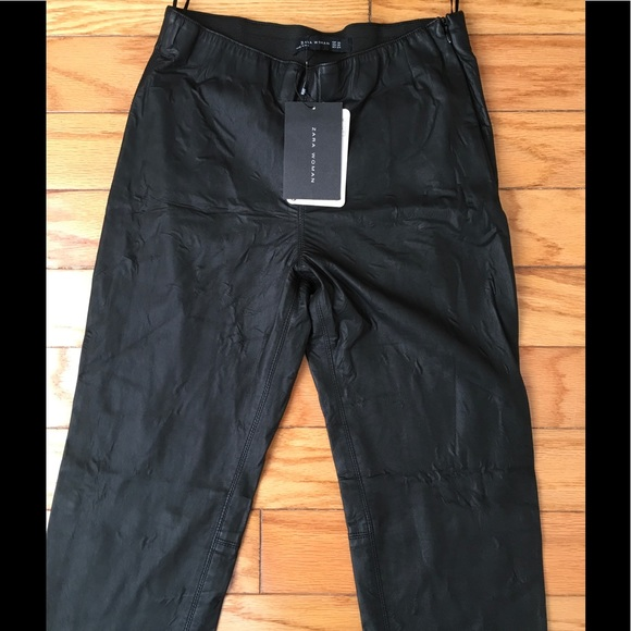 Unique Women39s Faux Leather Pants Women39s Black Leather Pants