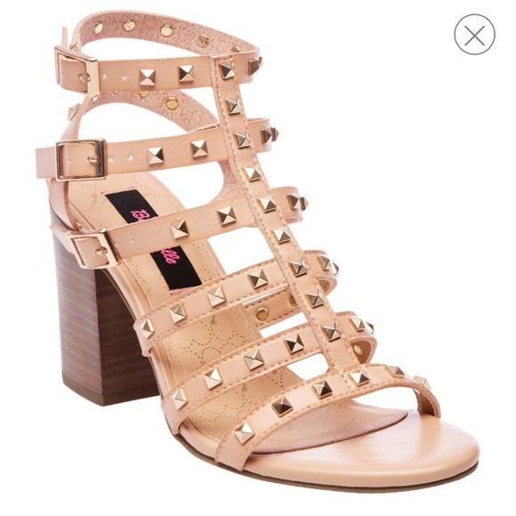 d8cb0baf9c5 Betsey Johnson Shoes - Betseyville Naveah Tan Gladiator Sandals