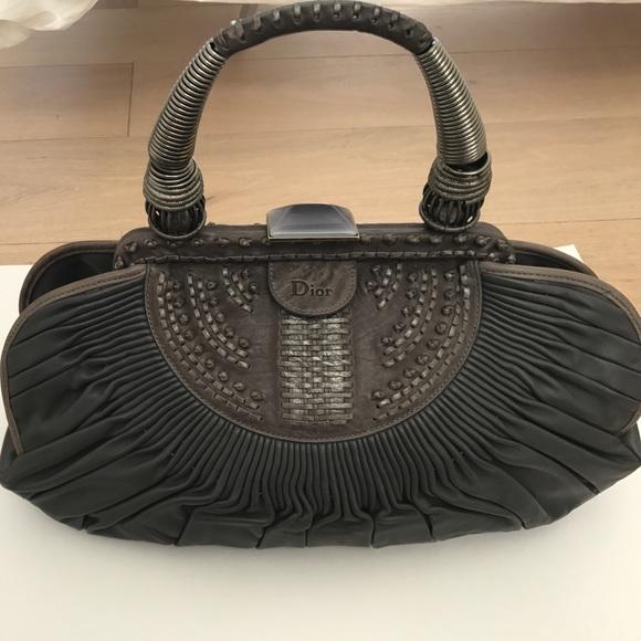 71d3f1eaa32 Christian Dior Handbags - CHRISTIAN DIOR PLISSE BAG