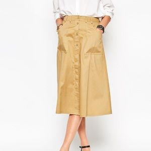 Rachel Comey Dresses & Skirts - Rachel Comey Button Front Midi Skirt