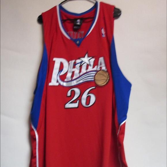 Vintage Sixers Kyle Korver Basketball Jersey