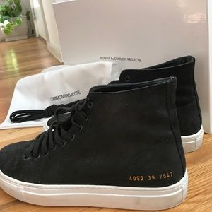 Common Projects Shoes - Common Projects Tournament High | Waxed Suede, 39