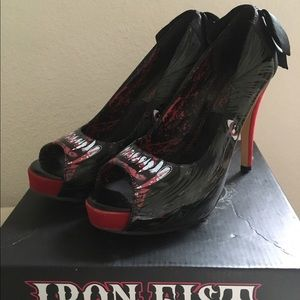 Iron Fist Wolf Beater Heels
